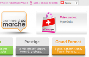Imprimerie en ligne Suisse